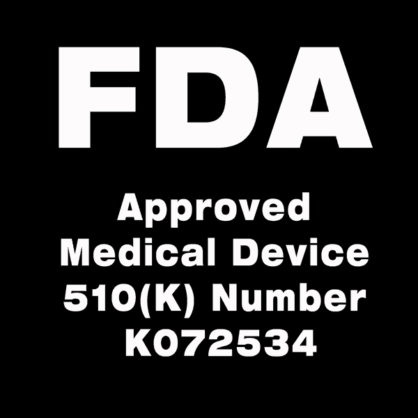 FDA Approved Medical device 510(k) K072534
