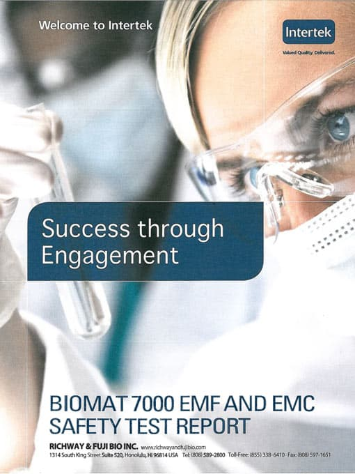 Biomat Safety and Certifications | The Biomat Shop