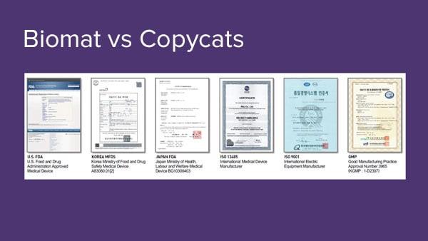 biomat vs copycats